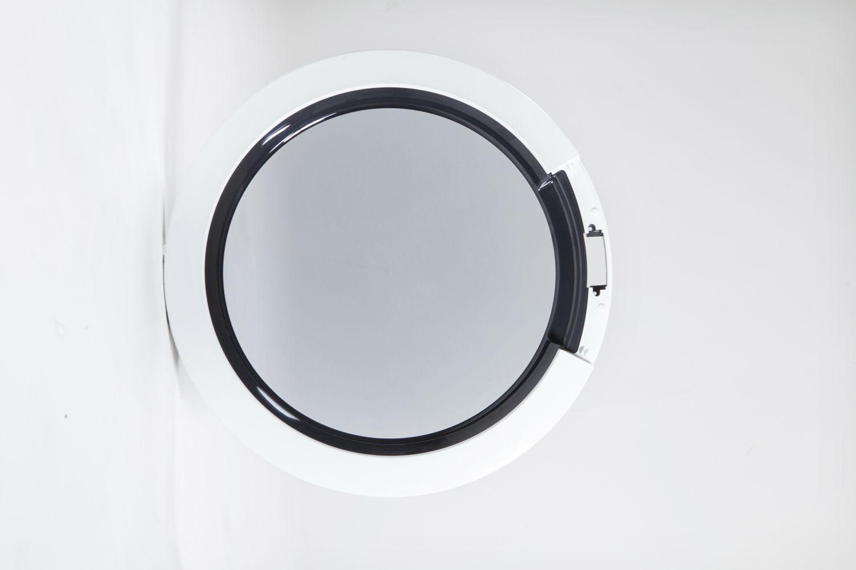 oblò lavatrice in tre materiali